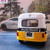 FASCICULE N°12 RENAULT 4 FOURGONNETTE R4 F4 RENAULT SERVICE 83 1/43 UNIVERSAL HOBBIES - car-collector.net