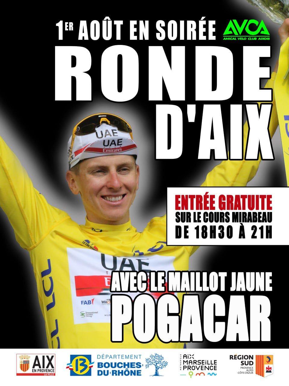 La Ronde d'Aix, c'est dimanche prochain !