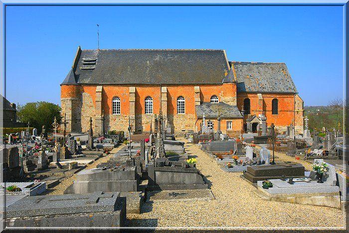 Diaporama église fortifiée de Marly-Gomont
