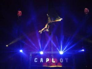 Cirque Caplot Zavatta à Lyon : je suis allé sur la piste avec le clown !