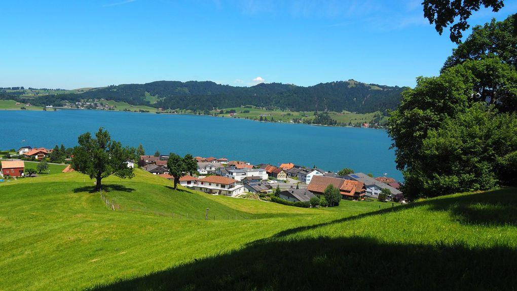 Le lac de Sihl
