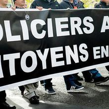 Policiers en colère: « On ne supporte plus nos conditions de travail »