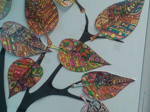 ma classe: ma porte d'automne