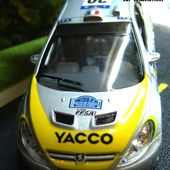 PEUGEOT 307 WRC RALLYE DE FRANCE SAICO 1/32 - car-collector.net