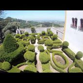 Goldwing unsersbande - diaporama camera grand angle palais national Sintra