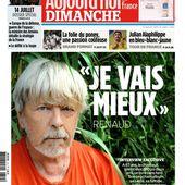 """Renaud : """"J'ai toujours eu envie de vivre, malgré ce que disent les journaux people, qui me voyaient mourant"""". - Leblogtvnews.com"""