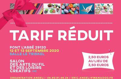 Salon des Arts du Fil et des Loisirs Créatifs  - Pont L'Abbé 29120
