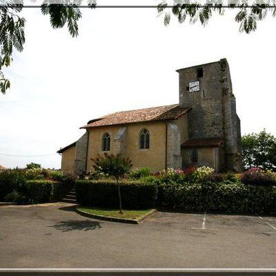 Eglise fortifiée de SAINT AUBIN