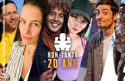 Le casting all stars du Koh-Lanta spécial 20 ans ! #KohLanta20ans