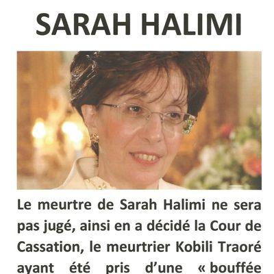 Justice pour Sarah Halimi par France-Israël de l'Indre
