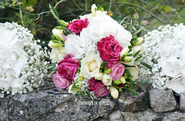 Mariage à l'anglaise au Mas St Germain | French wedding florist at Montpellier