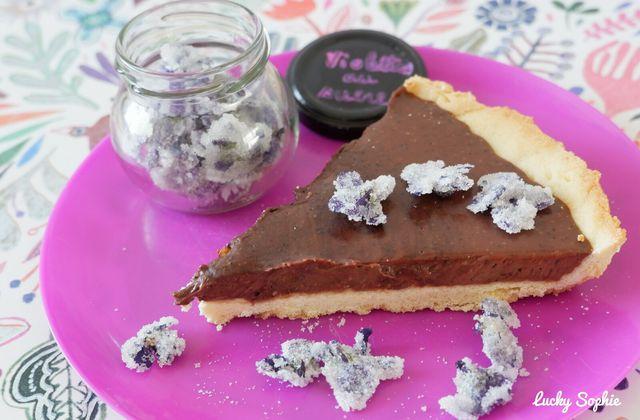 Tarte au chocolat facile avec 3 ingrédients !