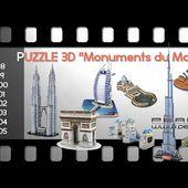 PUZZLE 3D constructions et bâtiments du MONDE - [PEARLTV.FR]