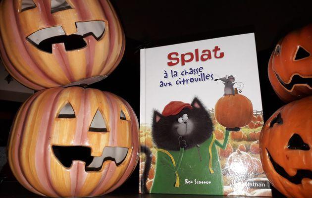 Lecture spéciale Halloween : Splat à la chasse aux citrouilles