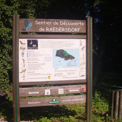 Sentier découverte de Raedesrdorf