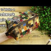 How to Make a Patchwork Magic Pouch Tutorial