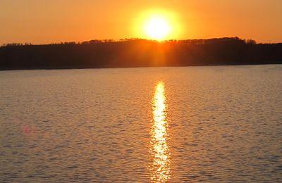 Chic c'est Lundi Soleil - Un ciel orange