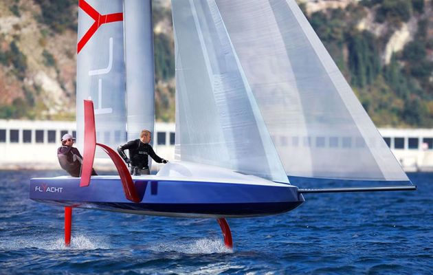 Philippe Briand unveils a 6.5m Flyacht concept