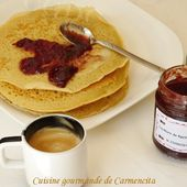 Pancake au lait de soja - Cuisine gourmande de Carmencita
