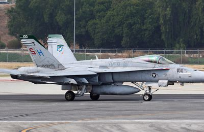 "McDonnell Douglas F/A-18C ""Hornet"" - VMFAT-101 ""Sharpshooters"" - Wing commander 2020"