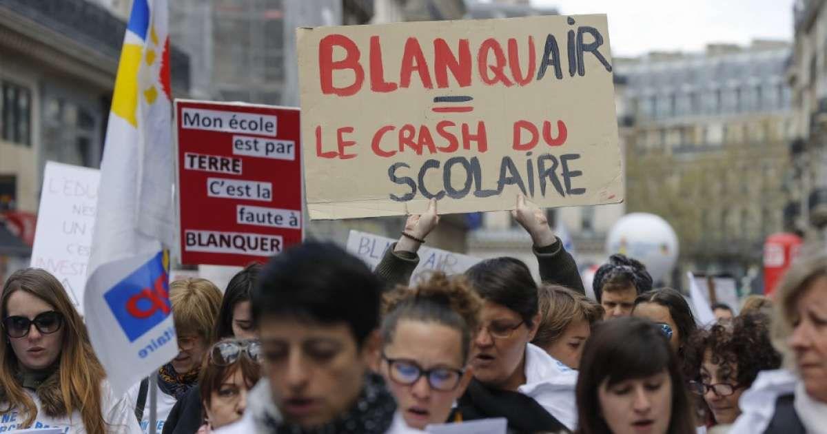 LE MEILLEUR REMÈDE  À LA POLITIQUE DE BLANQUER : LA MOBILISATION !