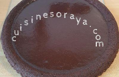 Gâteau renversé au chocolat