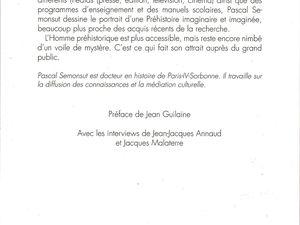 """Pascal Semonsut """"Le Passé du fantasme - La représentation de la Préhistoire en France dans la seconde moitié du XXe siècle (1940-2012)"""" (Errance - 2013)"""
