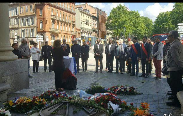 Commémoration Nationale de l'Abandon des Harkis,dimanche 12 Mai 2019 à Toulouse (31)