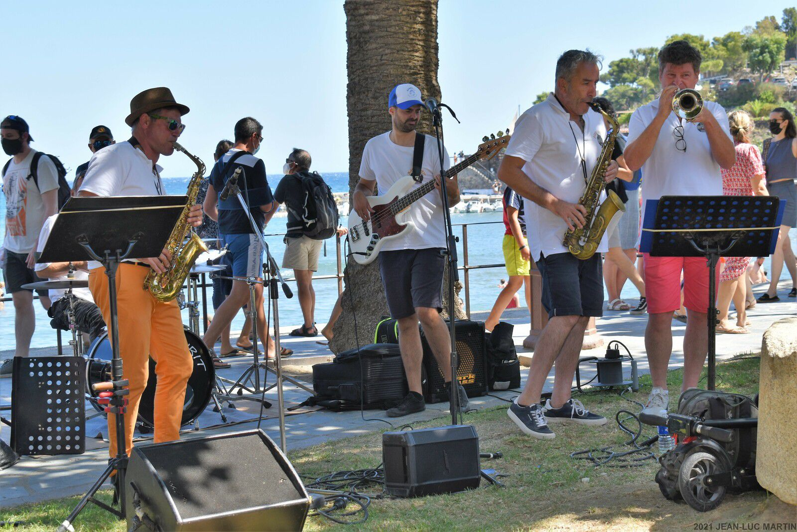 AXURIT'S BAND A COLLIOURE LE 17/8/2021