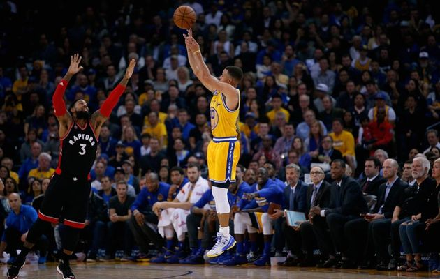 Le MVP de la nuit : Stephen Curry