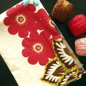 Stitched in Color: Loulouthi Tiles {Hand Quilting Tutorial}