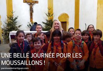 UNE BELLE JOURNÉE POUR LES SCOUTS MARTIGUES-CÔTE BLEUE !