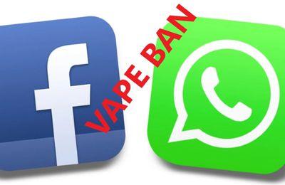 WhatsApp : Le vape ban continue !