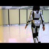 HRP-4C Miim's Human-like Walking