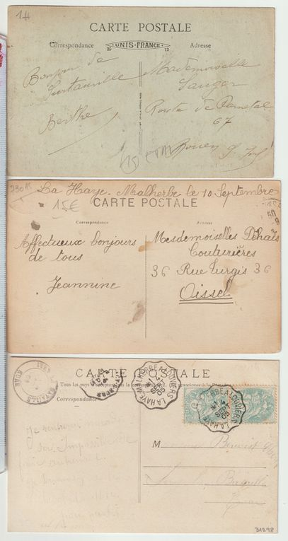 Collection de cartes postales de La Haye-Malherbe
