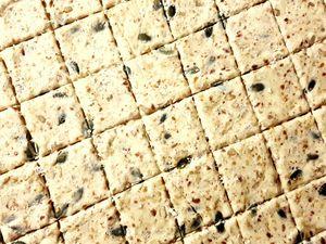 Crackers Danois aux graines Kboekbrød  (recette sans oeuf)