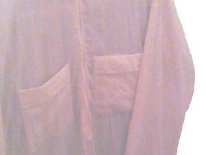 Kamis pour homme  Pochette de chaque coté  2 Poches au devant avec une petite poche fermer avec zippers a l'intérieur  Fait de coton 100% desoler des images j ai du éclaicir  et vu que le vêtement vient être frais laver il y a un peu de transparence puisqu'il est encore mouiller