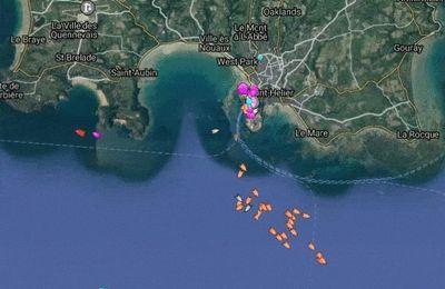 Jersey : Les Milices Maritimes Franco-Manchoises font demi-tour face à la Royal Navy !