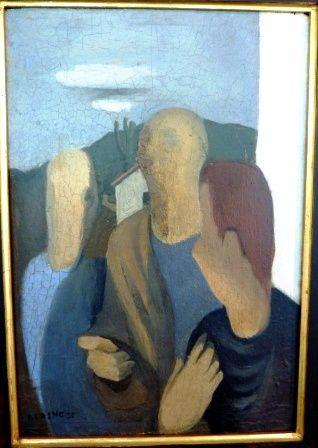 Un artiste au destin brisé... Né en 1911, Jean Lasne disparaît tragiquement, porté disparu, le 16 mai, lors de la percée allemande par les Ardennes dans le Nord de la Meuse. Sa sépulture se trouve dans le cimetière de INOR ( Meuse )