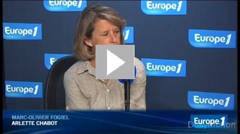 Arlette Chabot part de l'info « sans amertume » - Vidéo