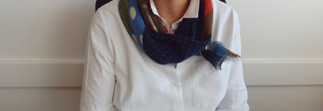 Béatrice Aubrée, directrice du lycée agricole Lasalle de Levier