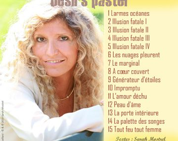 Désirs Pastel de notre ursidée Sarah Mostrel
