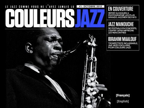 Média : CouleursJazz 1er magazine de jazz pour iPad