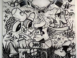 "Expo ""Chronique d'un art - Graffiti"""