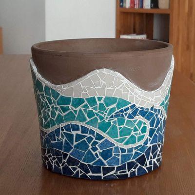 Pot de fleurs Océan