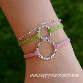 DIY : Bracelets en 10 mn chrono - Le blog de mes loisirs