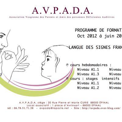 Programme de Langue des Signes à EPINAL