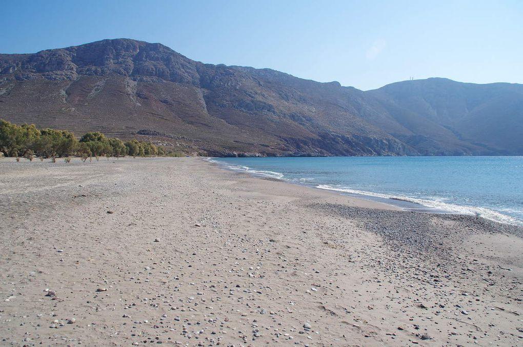Ile de Tilos : Plage Eristos