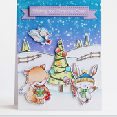 MFTSY24 : CLEAR STAMPS - Christmas Cheer FEE DU SCRAP