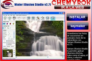 Water Illusion Studio v2.71(crea movimientos de agua)